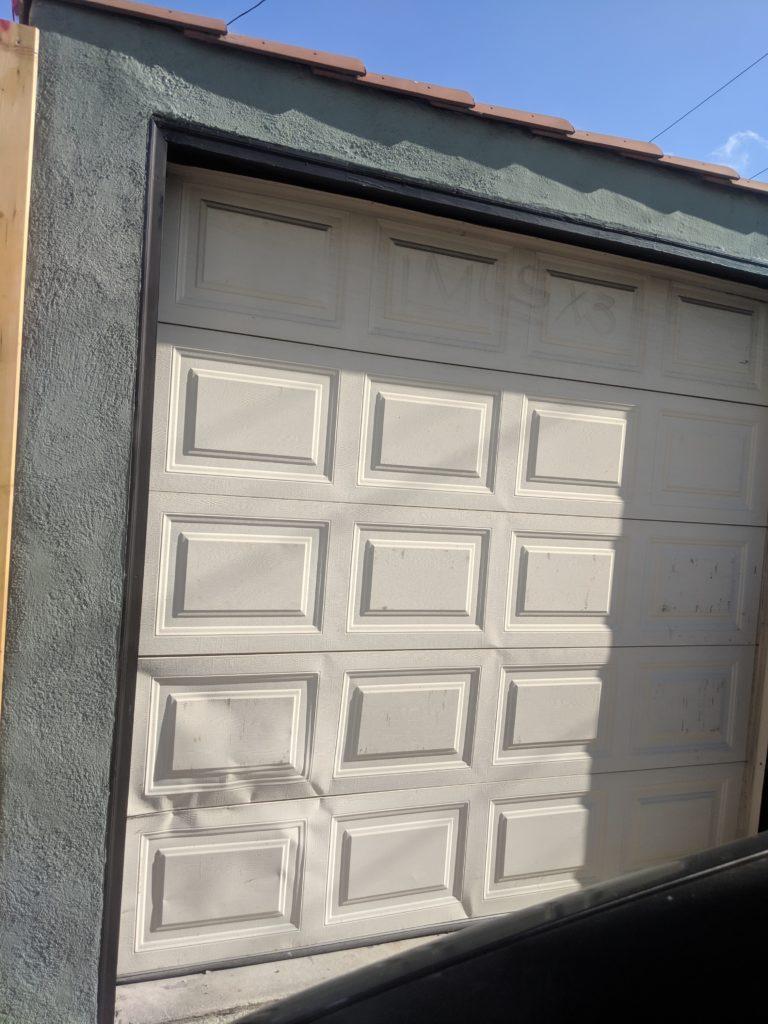 Garage Door Accident Ocean Rust Repair In Long Beach Ca