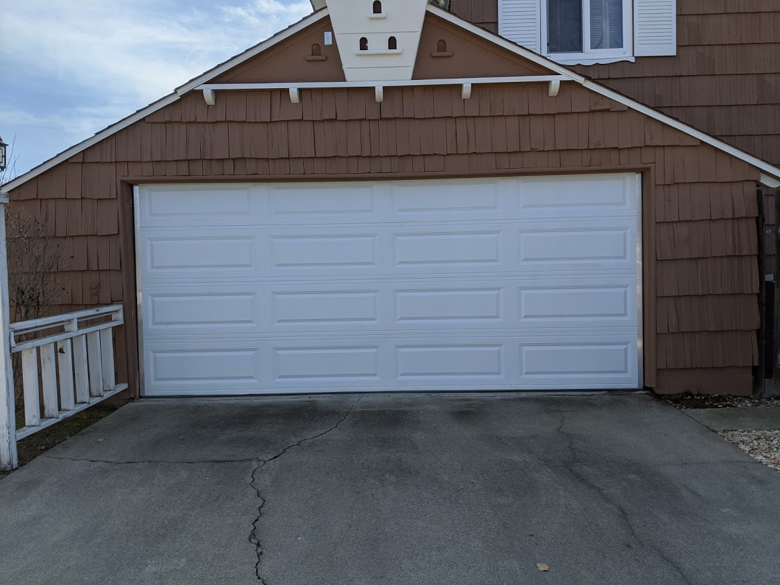 Custom cut garage door installation in whittier, ca